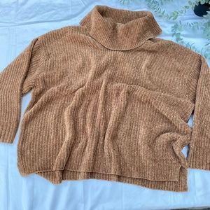 Joe Fresh Turtle Neck Chenille Knit Sweater
